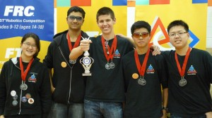 Landroids - FTC Inspire Award, Winning Alliance
