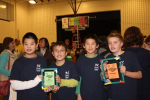 Technomes - FLL Champions' Award, #1 Robot Performance Award