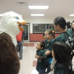 Giant walking eagles...yep we show gracious professionalism to them too