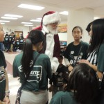 Santa Claus...talking more gracious professionalism
