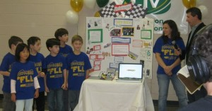 Jr.FLL Team Legobotics on Livingston TV Live 2010